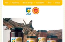 Desarrollo de páginas web: sitio web de Miel de Tenerife