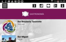 Aplicación para móviles Turismo de Tacoronte